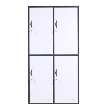 西域推荐 四门更衣柜,钢板厚度0.8 ZY-G027 1850*900*420钢制