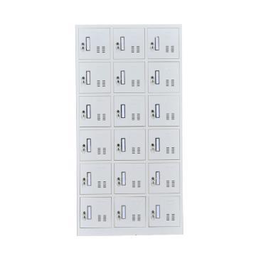 十八门更衣柜,钢板厚度0.6 ZY-G024 1800*900*350钢制