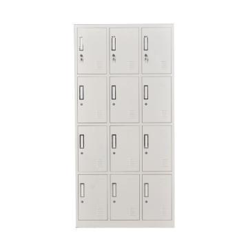 十二门更衣柜,钢板厚度0.6 ZY-G023 1800*900*350钢制