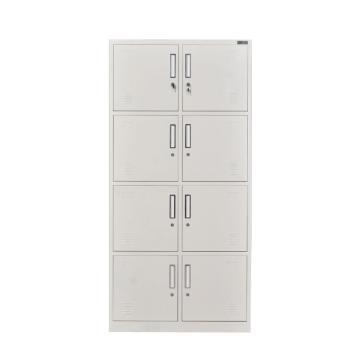 八门更衣柜,钢板厚度0.6 ZY-G021 1800*850*390钢制