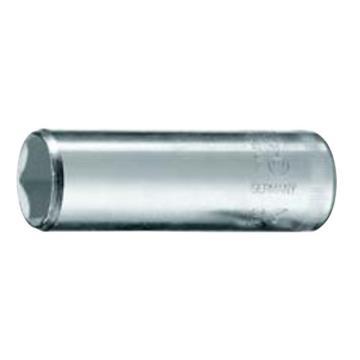 """吉多瑞 1/4""""公制加长型六角套筒,50mm长,10mm,6192210"""