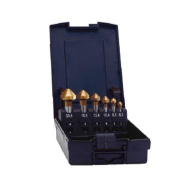 赛特EXACT 锪钻组套,6件套90°三刃,6.3/8.3/10.4/12.4/16.5/20.5,05567