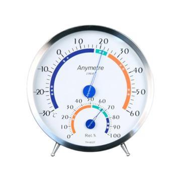 美德时/Anymetre 不锈钢温湿度计,TH602F