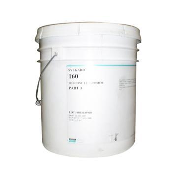 道康寧 有機硅灌封膠,中粘度型,160A,通用型,A組分,24.9KG/桶