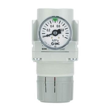 SMC 减压阀,设定压力0.05-0.7Mpa,AR20-01BG-R-A