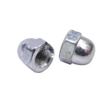 一体GB/T923-1988盖形螺母,M10,6级镀锌,100个/包