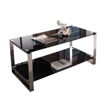 玻璃長茶幾款式一,DT-sf023 鋼化玻璃1200*600*450 黑色