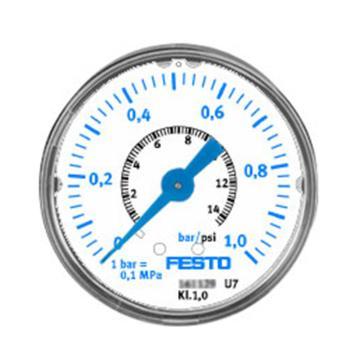 費斯托FESTO 精密壓力表,MAP-40-1-1/8-EN,161126
