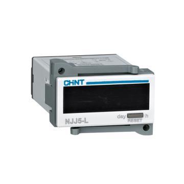 正泰CHINT NJJ5-L电子式累时器,NJJ5-L1 AC/DC100V~240V