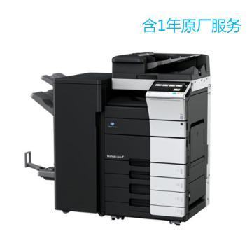 柯尼卡美能達 打印機,bizhub C458 中高速45頁/分鐘彩色復印/打印/掃描一體機 頂配含1年原廠服務