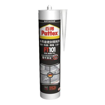 百得 百得多用途密封胶,FT101 Wht,白色,280,ml/支