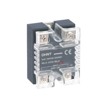 正泰CHINT NJG1系列固态继电器,NJG1-SDA032-10A240V