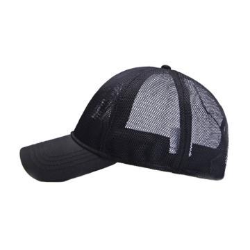 夏季镂空大头棒球帽,全网黑色,56-60cm