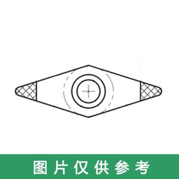 兴和一 双头金刚石车刀片,R0.8-16-DIA02,单位:片、10片/盒,请按10的倍数下单