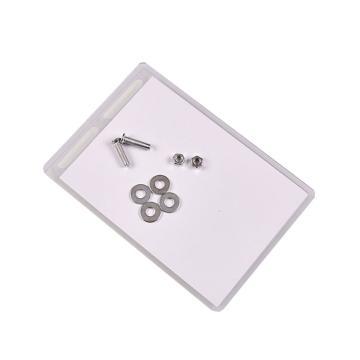 排列签标示卡,材质:PVC胶片,尺寸:10*15cm 带螺丝