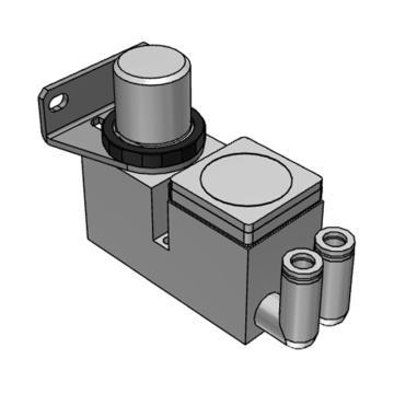 SMC 小型集装式减压阀,单体式,正面手轮型,ARM10F2-08BG