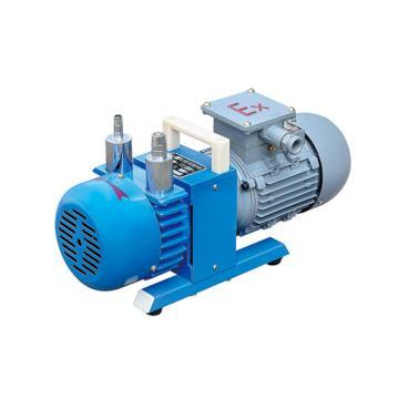 谭氏 真空泵,无油防爆型,WXF-2,三相,抽气速度:2L/S,外形尺寸:440x160x240mm