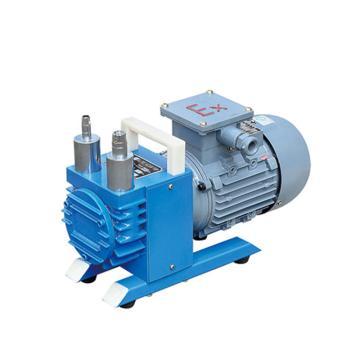 谭氏 真空泵,无油防爆型,WXF-1,三相,抽气速度:1L/S,外形尺寸:320x160x240mm
