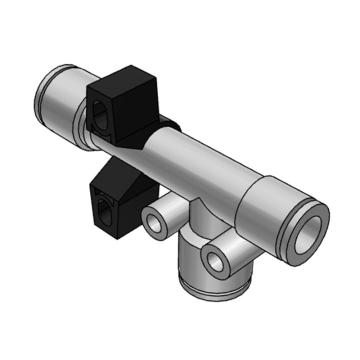 SMC 真空发生器,直接配管型,ZH13DSA-08-10-10