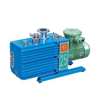 谭氏 真空泵,防爆,直联旋片式,含强制防返油装置,2XZF-25C,三相,抽气速度:25L/S