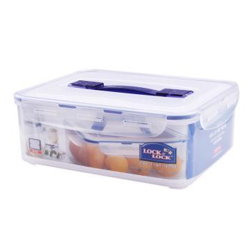 乐扣乐扣 密封收纳箱,HPL880透明4.8L