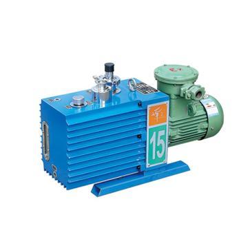 谭氏 真空泵,防爆,直联旋片式,含强制防返油装置,2XZF-15C,三相,抽气速度:15L/S