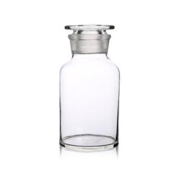 西域推荐 白色玻璃大口试剂瓶,1000ml,瓶口磨砂,6-7cm,6只/盒