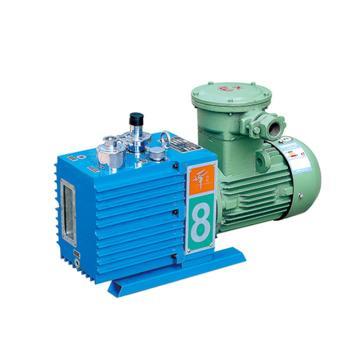 谭氏 真空泵,防爆,直联旋片式,含强制防返油装置,2XZF-6C,三相,抽气速度:6L/S