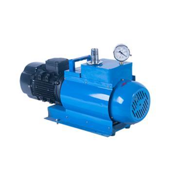 谭氏 真空泵,无油旋片式,WX-4,三相,抽气速度:4L/S,外形尺寸:510x190x330mm