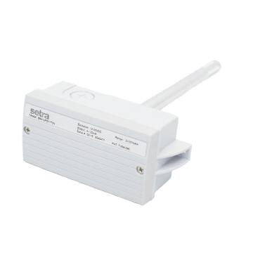 西特/Setra 风管温湿度变送器,湿度输出4-20mA,温度输出PT1000,5%精度