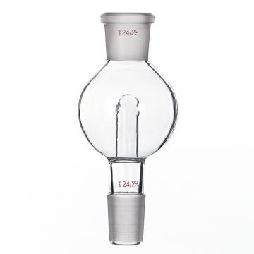 SYSBERY,防溅球,100ml,24/29转24/29,透明,高硼硅玻璃,10只/盒