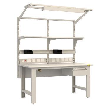 佰斯特 防靜電工作臺,(含單抽/電源線盒 不含移動柜)1830×900×760,PST-90W-23,不含安裝費