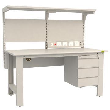 佰斯特 防静电双层工作台,1530×750×760,PST-90W-28,不含安装费