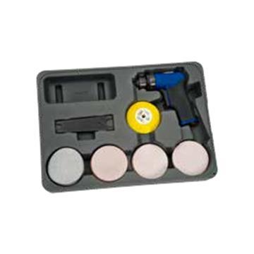 """蓝点 3""""气动微型砂磨机套装,AT402MCKA"""