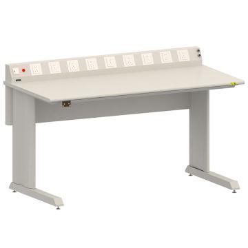 佰斯特 防靜電固定式工作臺,(含電源線盒)1830*900×760,PST-GD-43,不含安裝費