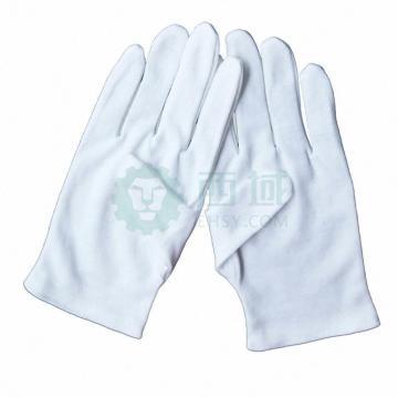 连山 棉手套,涤棉品管手套,12副/打