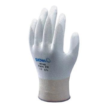 尚和倍斯特SHOWA BEST PU手掌涂層手套,B0500-8