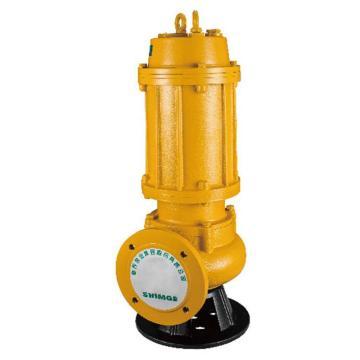 新界 WQ(D)型污水污物潜水泵,WQ37-13-3,法兰连接,带出水弯头,电缆长度8米