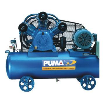 巨霸PUMA 皮带式空压机,8kg/cm2,GX200300,三相