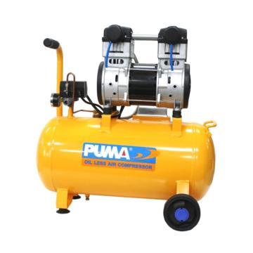 巨霸PUMA 无油静音直接式空压机,WE125A,单相