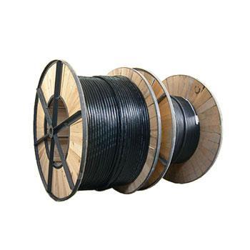 恒晶 1KV低压动力铜芯氟塑料电力电缆,ZR-FV22-0.6/1KV-3*10+1*6