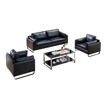 沙發款式二,1+1+3+長茶幾,DT-sf009 西皮 黑色