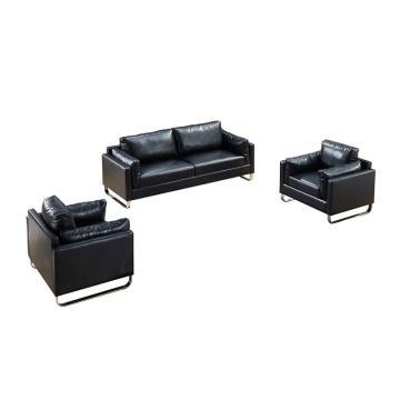沙發款式二,1+1+3,DT-sf008 西皮 黑色