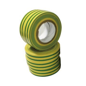 安赛瑞 黄绿地线标识胶带,17mm×18m ,12415,10卷/包