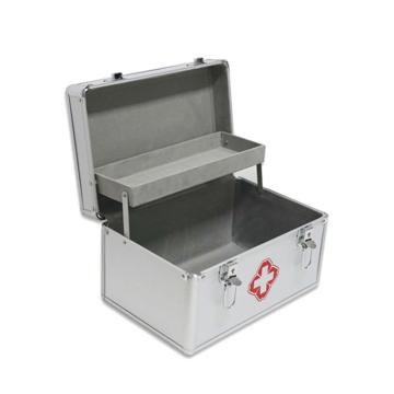 安赛瑞 便携式急救箱(空箱),铝合金材质,310×205×185mm,20427