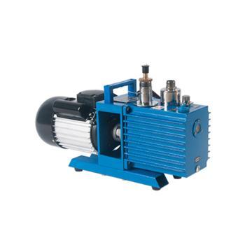 譚氏 真空泵,直聯旋片式,2XZ-2,單相,抽氣速度:2L/S,外形尺寸:514x168x282mm