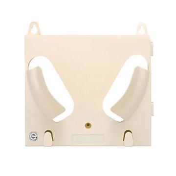 安赛瑞 安全帽放置架(单帽),乳白色,240×275mm,12049