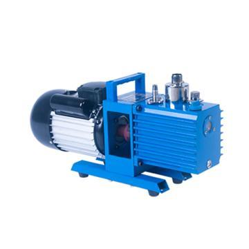 譚氏 真空泵,直聯旋片式,2XZ-0.5,單相,抽氣速度:0.5L/S,外形尺寸:447x168x260mm