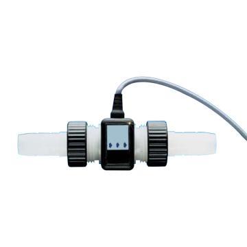 OMEGA 全塑超低流量流量传感器,FTB601B,±1%读数精度 -40-85℃ 8-24Vdc 30:1