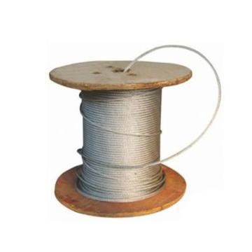 西域推荐 镀锌钢丝绳,规格:Φ10mm,6*19+FC